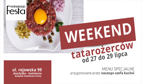 Weekend Tatarożerców